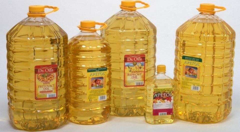 Rostlinné oleje rozvoz Brno